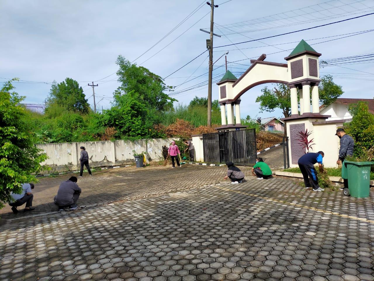 Gotong Royong di PTUN Jambi
