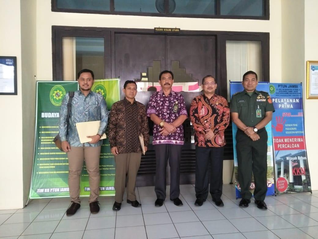 Kunjungan Komisi Yudisial pada PTUN Jambi