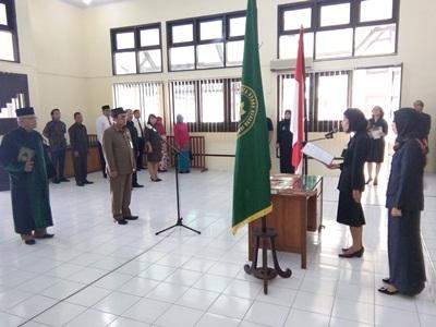 Pelantikan Panitera, Panmud Perkara, Panmud Hukum dan Panitera Pengganti Pengadilan Tata Usaha Negara Jambi