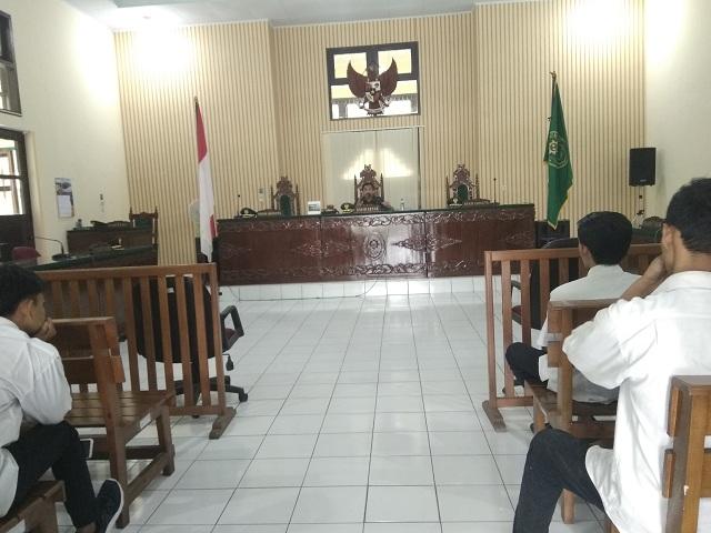 Kuliah Umum Oleh Ketua PTUN Jambi Kepada Mahasiswa Magang di PTUN Jambi