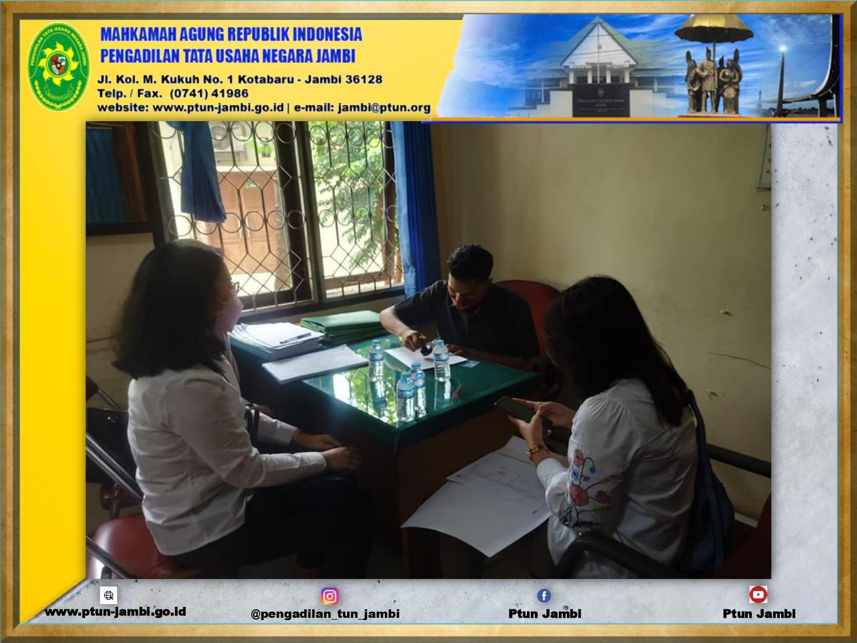 Pengecekan Portofolio Aset Pengadilan Tata Usaha Negara Jambi oleh KPKNL